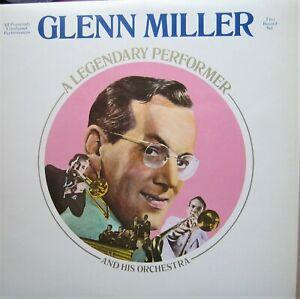 "Glenn Miller ""A Legendary Performer"" unreleased content double album 1974"