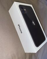 Apple iPhone 11 64GB Black BOX ONLY With Genuine Apple Accessories