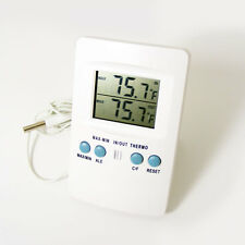 Zeal P1000 Digital Thermometer Indoor / Outdoor  Min / Max Ideal for Greenhouse