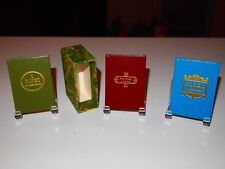"""1982  """"3 Books by Charles dickens""""  printed by Black Cat Press miniature books."""