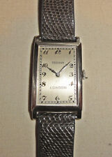 FRODSHAM London 18k White Gold Fine & RARE Gentleman's Watch Swiss 17 Jewel Mvt
