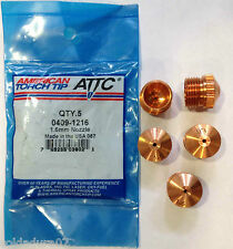 5 Nozzle Tip Plasma Cutting for Torch SAF CPM15 FRO 0409 - 1216 -  Made in USA