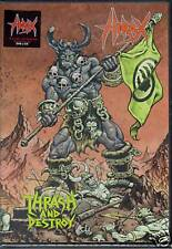HIRAX-THRASH & DESTROY-DVD + CD-slayer-crossover-thrash-thrashcore-live