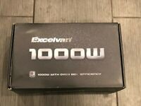 Excelvan 1000W/1200 Watt Peak PCI-E ATX Power Supply PSU/MINING Bronze 80%