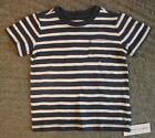 Janie and Jack Baby Boys Short Sleeve Striped T-Shirt - Size 18-24 Months - NWT