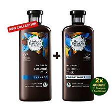 Herbal Essences Shampooing Bio Renew glucides Coconut Milk  2x400ML