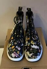 Dr. Martens Boots Size 3 Darcy Floral Newtons Light Weight Sole In Box NWT