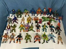 He-Man 1980's MASTERS OF THE UNIVERSE MOTU Vintage Action Figures Lot 31