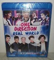 BLU-RAY ONE DIRECTION - REAL WORLD - NUOVO NEW
