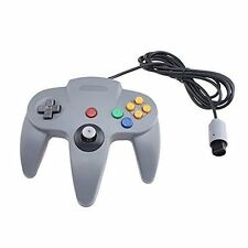 Wired Controller Joystick For Nintendo 64 Game System Gray Gamepad Brand New 2Z