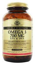 Solgar Double Strength Omega 3 700 mg, 120 Softgels