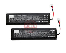 2 REPLACEMENT LI-ION BATTERY FOR TOPCON GPS,24-030001-01,L18650-4TOP,HIPER