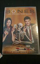 Bones The Complete Third Season DVD