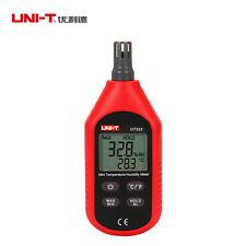UNI-T UT333 Indoor LCD Digital Temperature Humidity Meter Thermometer Hygrometer