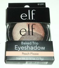 e.l.f. Baked Eyeshadow Trio PEACH PLEASE 81291 New And Boxed