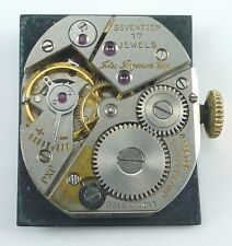 Jules Jurgensen Mechanical Wristwatch Movement  - Spare Parts, Repair
