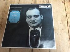 ENRICO CARUSO IN SONG CATALOGUE RB-6613 RCA VICTOR Red Seal L.P.ex