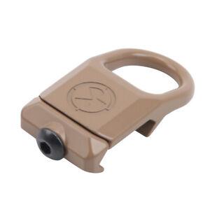 Quick- Detach Metal RSA GBB Buckle Durable Airsoft Rifle Sling Swivel Hook AA