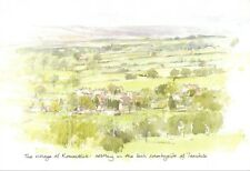 Art Postcard The Village of Romaldkirk, Barnard Castle, Co. Durham 31i