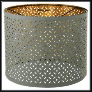"""IKEA Nymo Lamp Shade 13"""" (32cm) Green/Olive NEW"""