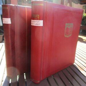 MEGA Sammlung Russland Sowjetunion 1875 bis 1973 in 2 Alben viele Spitzen Blöcke