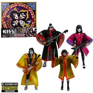 KISS Rock and Roll Over 3 3/4-Inch Action Figure Deluxe Box Set - Convention Exc
