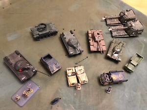 roco minitanks 1/87 Modern Tanks  Lot