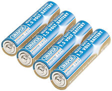 Genuine DRAPER 4 Heavy Duty AAA-Size Alkaline Batteries | 61833