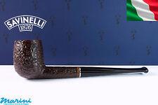 Pipa Pfeife Pipe Savinelli Tre dritta rusticata 105 senza filtro made in italy