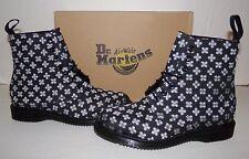 DR MARTENS Kathleen Black 60's Geo Brocade Women's Boots NIB sz US 6/EU 37/UK 4