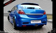 Opel Astra H 3 Porte HatchBack Paraurti Posteriore Tuning OPC look vetroresina