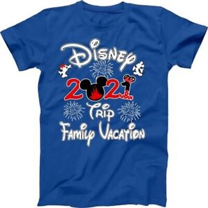 Mickey Minnie Disney Family vacation 2021 Best T-shirts Match Tees