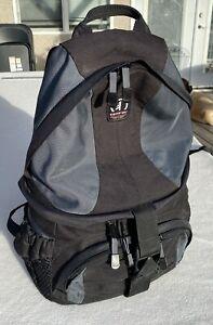 Tamrac SAS Adventure 6 Backpack Camera Accessory Bag Black & Gray Strap System
