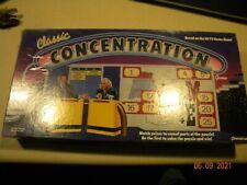 1988 Classic Concentration Board Game Pressman Vintage 80's Skill 100% Complete