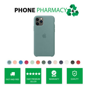 Genuine Original Authentic Apple iPhone 11/ Pro/ Max Silicone Case Snap On Cover