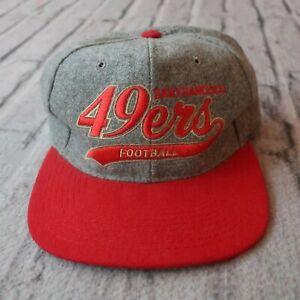 Vintage 90s San Francisco 49ers Snapback Hat by Starter Cap Rare
