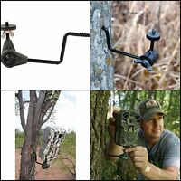 Screw in Trail Camera Holder Easy Mount easy to screw into tree 360 Degree New