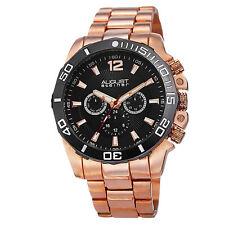 August Steiner AS8113 Men's Swiss Multifunction Day Date Bracelet Watch