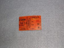 Neil Young Concert Ticket Stub January 1973 Buffalo NY Time Fades Away Tour