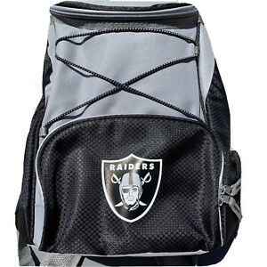 NFL Oakland Raiders PTX Insulated Backpack Cooler, New Without Tags Las Vegas