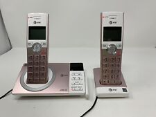 AT&T CL82257 DECT 6.0 Expandable Cordless Phone with Answering System, Rose Gold