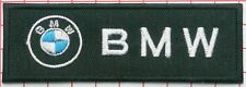 BMW  Logo - High quality embroidered cloth patch.    B010203