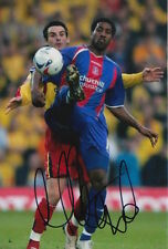 Crystal Palace Firmato a Mano mikele leigertwood 6x4 foto.