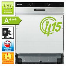 Geschirrspüler 60cm Einbau A+++ Spülmaschine 8 Programme Aquastop teilintegriert