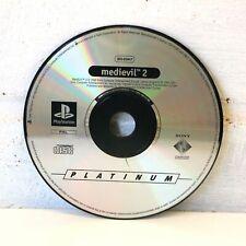 MEDIEVIL 2-Platinum-SONY PLAYSTATION PSONE PS1 disco de juego solamente!
