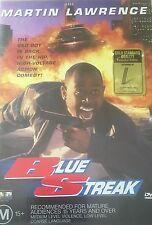 Blue Streak Martin Lawrence  Region 4 DVD VGC