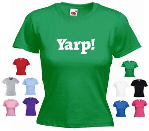 'Yarp' Hot Fuzz Cider West Country Somerset Devon Ladies Funny T-shirt Tee
