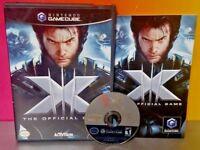 X-Men 3 Wolverine Nightcrawler Iceman Nintendo GameCube NGC Complete Game Tested