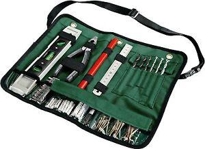 BOSCH 50-teilige Gürteltasche Werkzeugtasche Bohrer-Set Werkzeugset (2607019512)