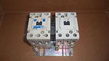 Cutler Hammer CE55JN3 Size J Reversing Contactor 50HP 69 Amp 600v 240v Coil